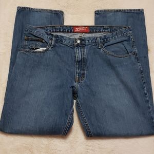 Arizona Jean Co. Blue Straight Leg Jeans 38x32